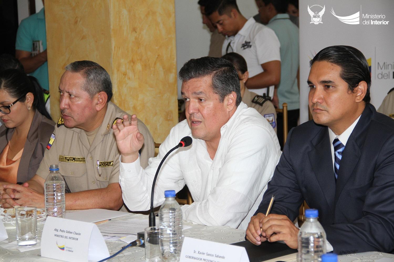 El Consejo de Seguridad Ciudadana se realizó con la presencia del Dr Pedro Solines, en la Gobernación de Manabí (1)