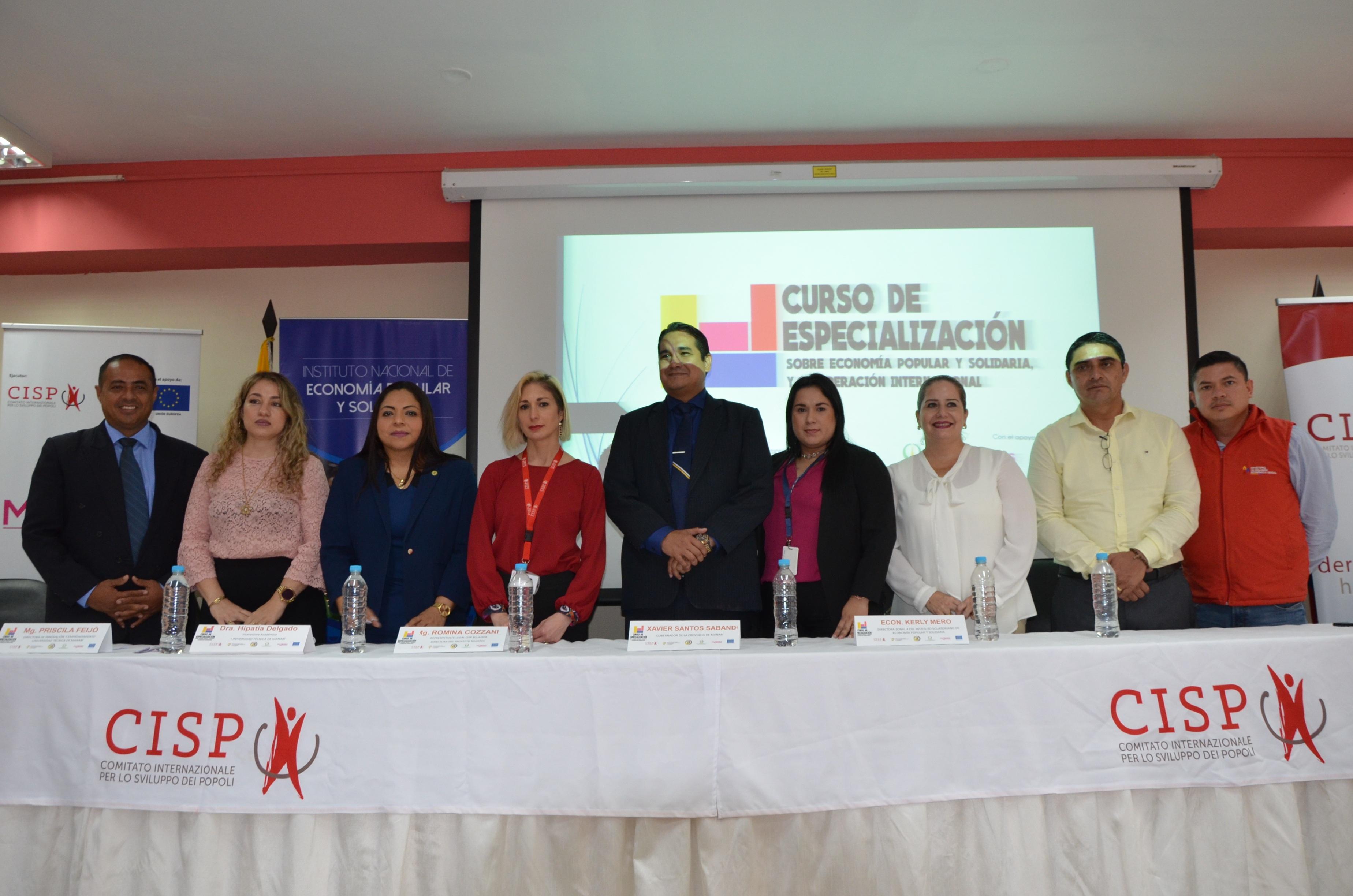 IEPS FORTALECE LA EPS EN MANABÍ CON CURSO DE ESPECIALIZACIÓN Y COOPERACIÓN INTERNACIONAL