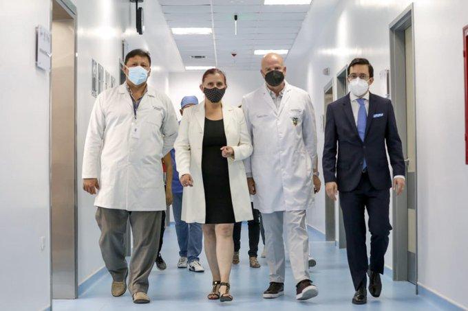 VICEPRESIDENTE VERIFICA ATENCIÓN Y STOCK DE MEDICINAS EN HOSPITALES PÚBLICOS DE CHONE