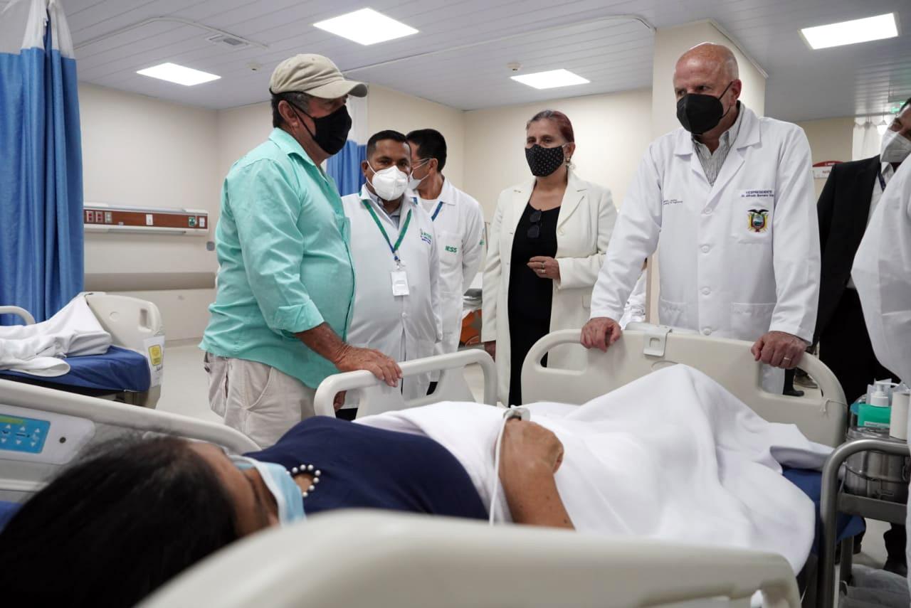VICEPRESIDENTE: EL HOSPITAL NUEVO DE BAHÍA DE CARÁQUEZ DEBE INAUGURARSE EQUIPADO Y CON PERSONAL TRABAJANDO