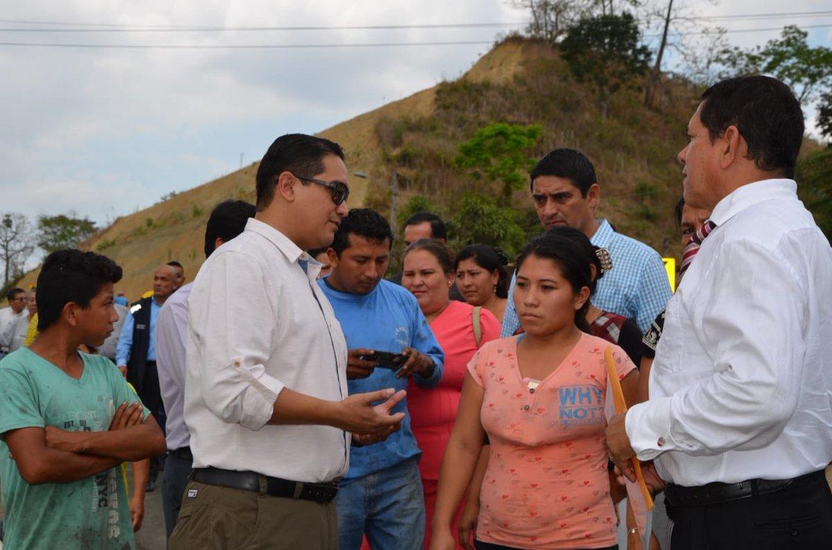 GOBERNADOR REALIZÓ AGENDA TERRITORIAL EN 24 DE MAYO Y BOLÍVAR