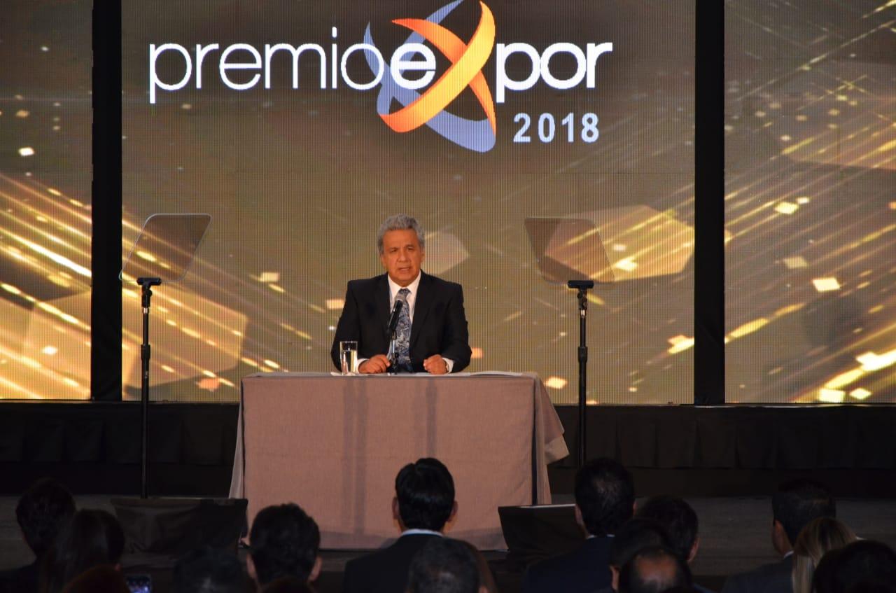 PRESIDENTE DE LA REPÚBLICA ANUNCIA EXONERACIÓN DE ANTICIPO DEL IMPUESTO A LA RENTA DE 2018 A EMPRESARIOS DE MANABÍ Y ESMERALDAS